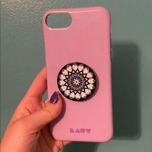 iPhone 6s/7 case w/popsocket!